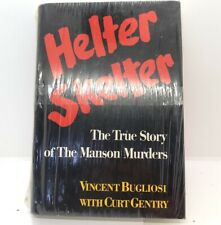 1st Edition HELTER SKELTER By Bugliosi -- True Story Of Manson Murders - 1974