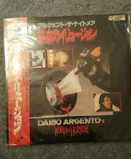 DARIO ARGENTO: MASTER OF HORROR - Japanese original LASER DISC MEGA RARE