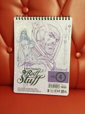 SDCC J. Scott Campbell The Ruff Stuff Sketchbook Vol. 4 SIGNED [SDCC-4A]