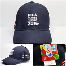 FIFA Women's World Cup 2015 Soccer Football Canada Ball Cap Fitted L/XL Hat NEW