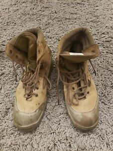 Bates Hot Weather Combat Hiker Boots Olive Mojave E03612D Size 10R