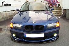CARKING 99-06 MATTE BLACK BMW E46 M-TECH M-SPORT H style FRONT LIP SPLITTER