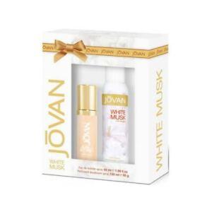Jovan White Musk For Her Gift Set Eau De Toilette 59Ml + Bodyspray 150Ml