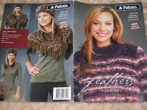 PATONS' KNITTING PATTERN BOOK, NO 1208 FEATHERS SIZES 6 TO 24