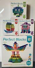 Tegu Piece Perfect Blocks Building Set Bundle