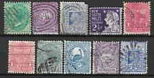 NEW SOUTH WALES Collection 10 Different COLONIES STATES Stamps Used (Lot 9)