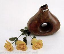 Moderne Keramik Vase formano in verschiedenen Brauntönen ca. 19,5 x 20 cm