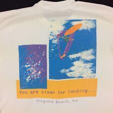 Vintage 90s USA Made Windboarding T-Shirt Mens XL Tee Surfer Skater vtg Stedman