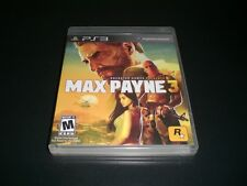 "Max Payne 3 (PS3) Complete ""Great Condition"""