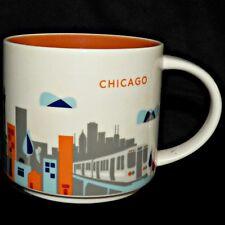 Starbucks 2015 Chicago, Il You Are Here Yah Taza de Café L Tren Magnificent Mile