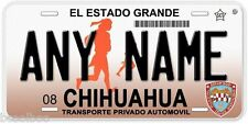 Chihuahua Mexico Any Name Number Novelty Auto Car License Plate C02