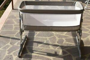 Safety 1St Calidoo Culla Fianco Letto, Co-Sleeping, Con Reclinazione 5 Altezze.
