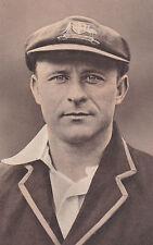Vintage Cricket Post Card William Albert Oldfield