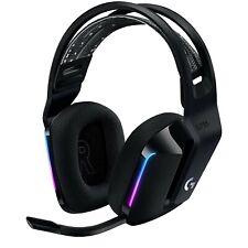 Logitech G733 Lightspeed RGB Black Wireless Over-Ear Gaming Headset Headphone