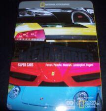 Megafactories Super Cars (Australia Region 4) Steelbook DVD – Like New