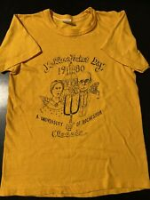 Vintage 1980 University Rochester Yellowjacket Day Classic Small T-Shirt