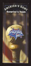 Ozzie Virgil, Jr--2005 Suprise Fighting Falcons Season Ticket Brochure