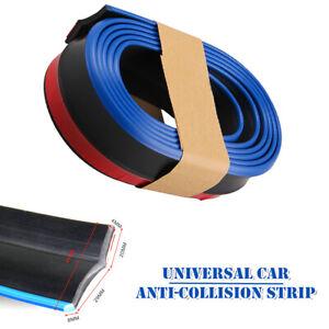 Car SUV Two-color 2.5M Anti-collision Anti-scratch Strip Front Bumper Strip Set