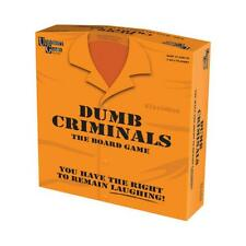 University Games 'Dumb Criminals' Board Game 12+ 2 to 4 players NEW & SEALED