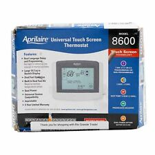NEW Aprilaire 8600 Programmable Touchscreen Digital Thermostat in White