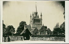 Isle of Wight.  Whippingham Church, vintage RP photograph JD.744