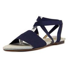 Flat (0 to 1/2 in.) Medium (B, M) Elastic Sandals & Flip Flops for Women