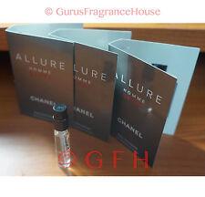 6 Allure Homme Sport Sample Cologne by Chanel 0.06oz 2ml EDT Mens Chanel Sample