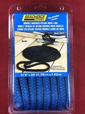 Seachoice Dbl Brd Dock Line-Black-5//8 X35/' 40421