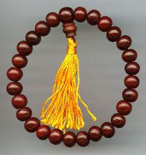 Joyas Brazo Rosario Madera Pulsera Nepal Brazalete Bilezik Mantra 18