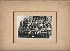█ Neudorf ECOLE DE NEUFELD Photo Classe Strasbourg 1937 █