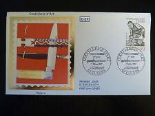 FRANCE PREMIER JOUR FDC YVERT  2467  COUTELLERIE D ART  1,90F   THIERS  1987