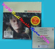 CD Singolo RON Vivere Vicino A Te PR 01551 ITALY 1999 PROMO CARDSLEEVE(S28)