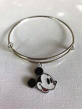 Disney Inspired Mickey Mouse  Charm Bracelet Expandable Bangle
