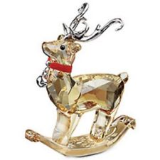 SWAROVSKI SILVER CRYSTAL WINTER REINDEER 1086146  MINT IN BOX