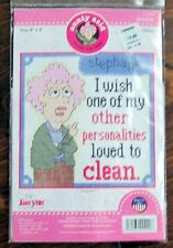 """1 Cute """"Other Personalities"""" Counted Cross Stitch Kit"""
