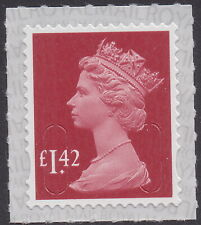 GB Machin Definitive Garnet Red £1.42 single (1 stamp) MNH 2020