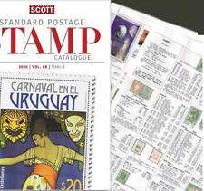 Uruguay 2020 Scott Catalogue Pages 509-596