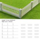 "44.88"" Detachable Fences for Model Train Railway 3x23cm 1:87 HO OO scale A US"