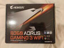 Gigabyte B360 Aorus Gaming 3wifi DDR4 Socket LGA1151 Motherboard