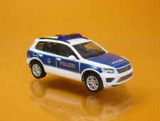 Herpa 093637 Volkswagen VW Touareg Bundespolizei Polizei Scale 1 87 NEU OVP