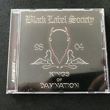 """Black Label Society (Zakk Wylde) - """"Kings of Damnation 98-04""""  - 19 Songs - 2005"""