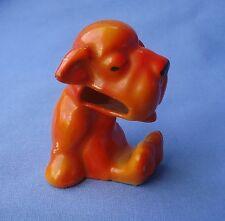 ART DECO ORANGE BONZO DOG TOOTHBRUSH HOLDER