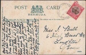 BERMUDA, 1906. Picture Post Card 34, Ireland Island - Loughton, Essex