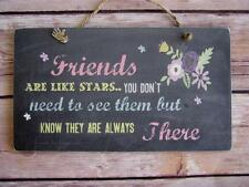 Handmade Wall Plaque Special Friend. Friendship Birthday Thank You Gift