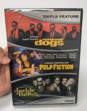 Quentin Tarantino Triple Feature Dvd Pulp Fiction~Reservoir Dogs~Jackie Brown