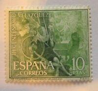 1961 Spain SC #986 DIEGO VELAZQUEZ 300th ANNIVERSARY  MNH stamp