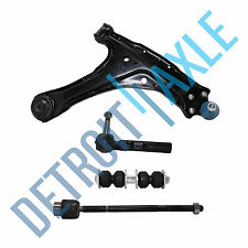 Control Arm Assembly, Ball Joint, Inner and Outer Tie Rod End, Sway Bar Link Set