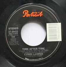 Pop 45 Cyndi Lauper - Time After Time / I'Ll Kiss You On Portrait