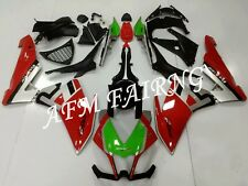 Red Silver ABS Injection Mold Bodywork Fairing for Aprilia RSV4 1000 2010-2015