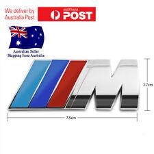 BMW Car Chrome Badge 3D Self-adhesive Boot Premium Logo Emblem M3 M5 X3 X5 E M